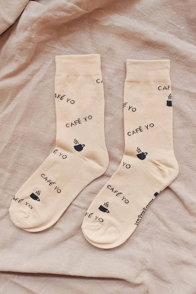 Les Petits Bas - Cafe Yo Comfy Socks Warm Women by Mimi & August