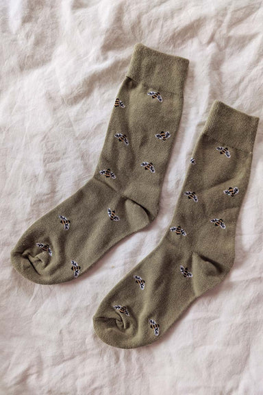 es Petits Bas - Bees Comfy Socks Warm Women by Mimi & August