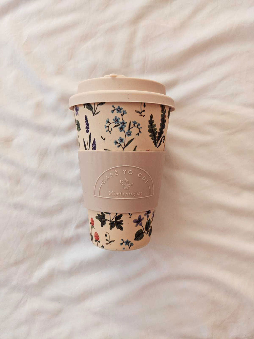 Little Spring by Joannie Houle Reusable Bamboo Cup Mimi and August