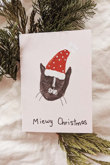Miewy Christmas | Beautiful Greeting Card by Mimi & august