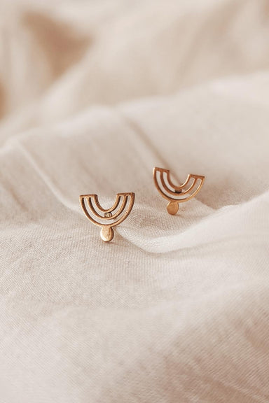 Nairobi - High Quality Gold Earrings by Mimi & August