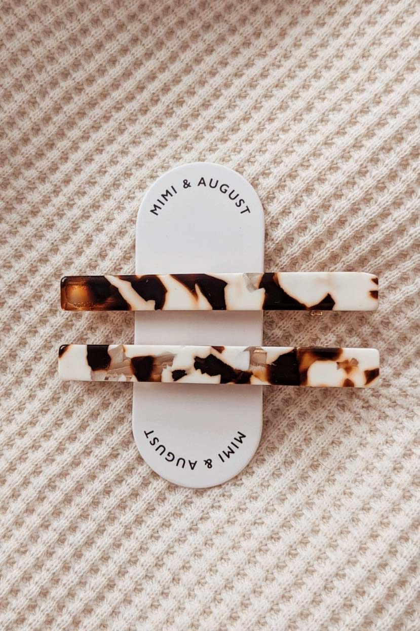 Pelicano Hair Clips the best accessorie for Woman by Mimi & August