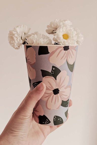 We love peonies flowers Reusable Bamboo Café Yo Cup Coffee to go Mimi & August