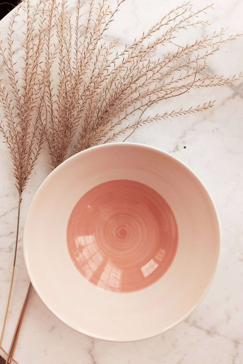 Beautiful pastel ceramic bowl by mimi and august