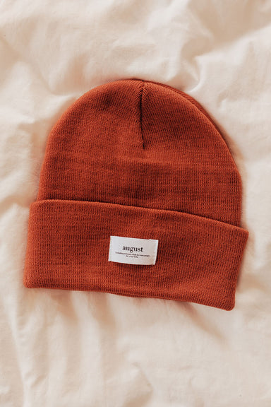 Pumpkin Latte Watch Cap Unisex Beanie Hat by Mimi & August