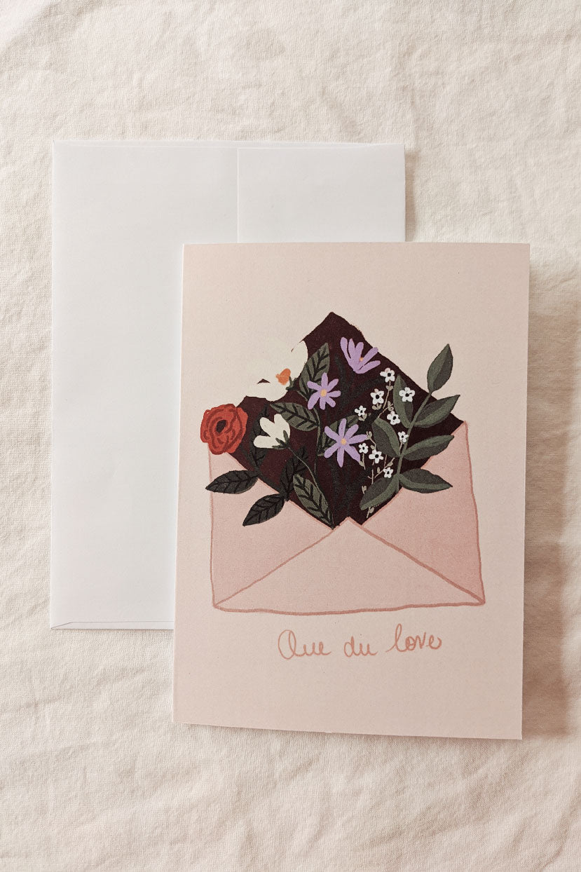 Que du love | Beautiful Greeting Card by Mimi & august