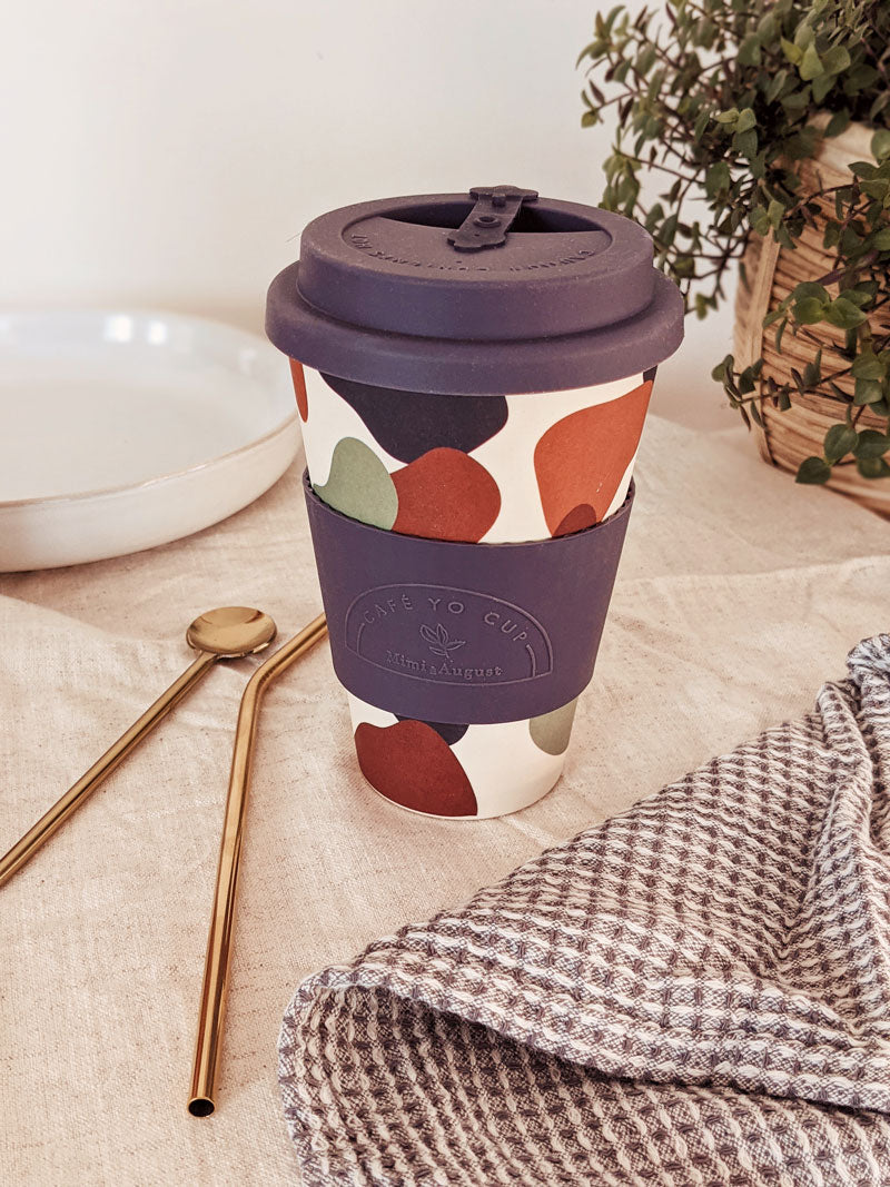 Beautiful reusable coffee cup shapes by mimi and august