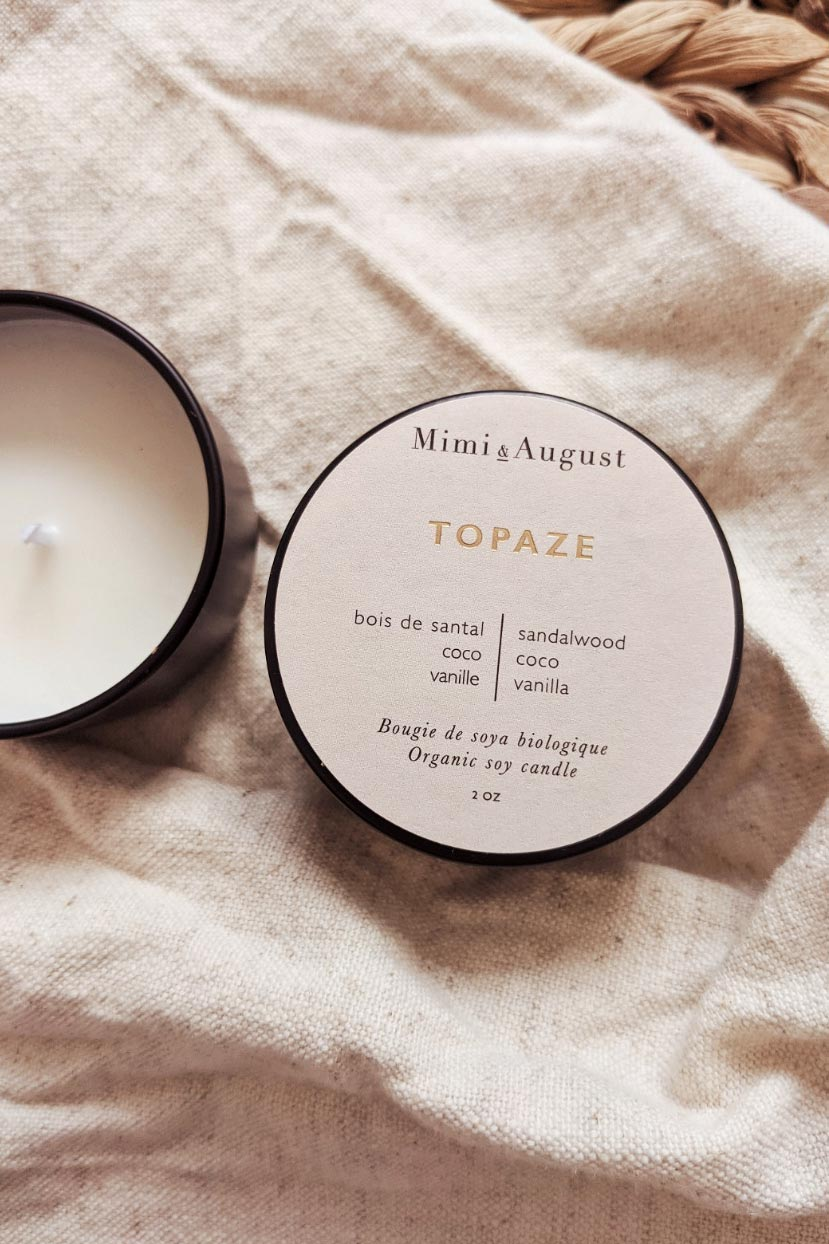 Topaze - Mini Candle 2 oz