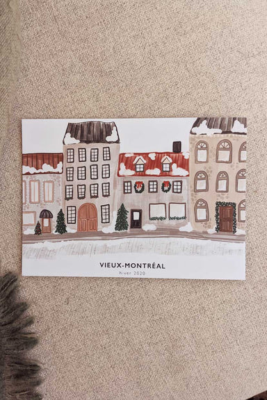 Montreal - High quality wall art print canada by Mimi & August
