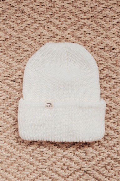 Natural Watch Cap Best Unisex Beanie Hat by Mimi & August