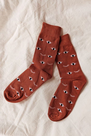 Wink wink Comfy Socks by mimi & august