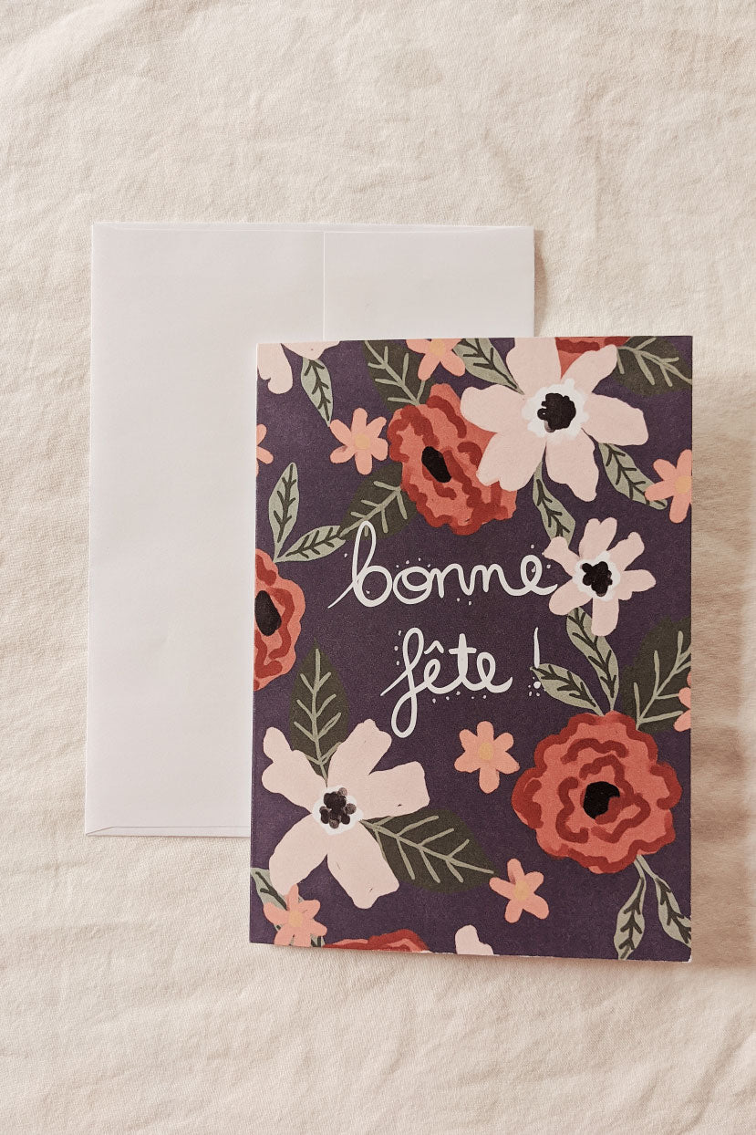Bonne Fête | Beautiful Greeting Card by Mimi & august