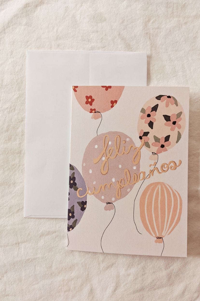 Feliz Cumpleaños | Beautiful Greeting Card by Mimi & august