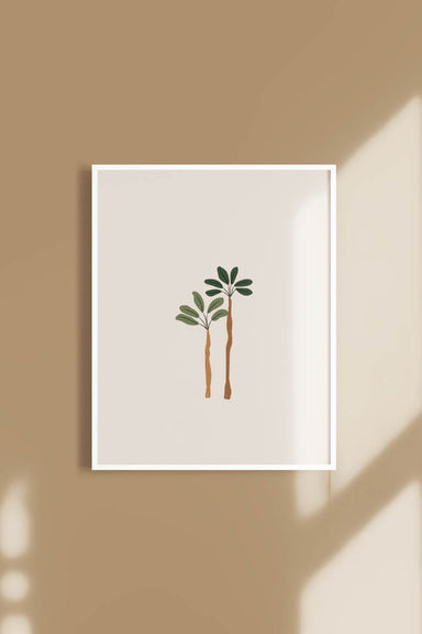 Palms Digital Printable Illustration Wall Art by Mimi & August