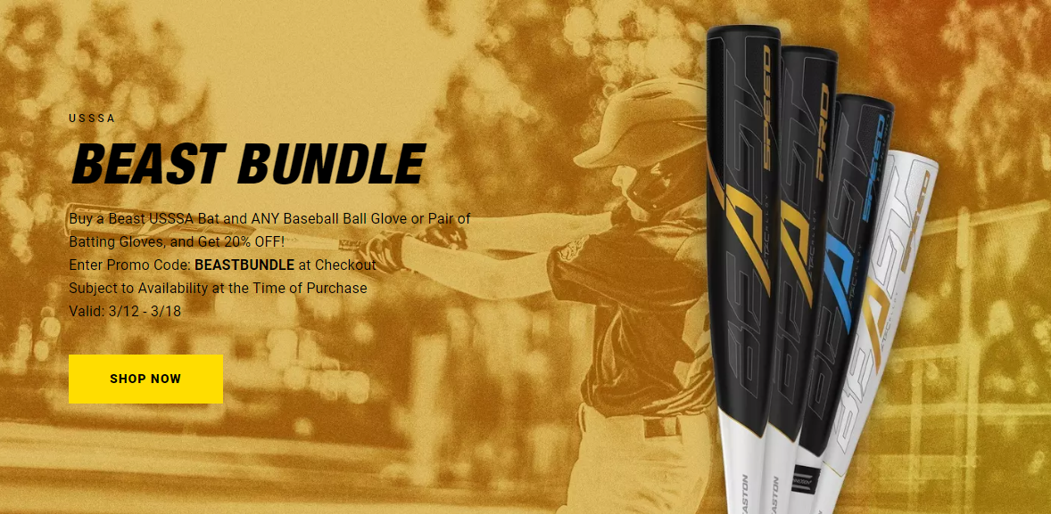 2019 Easton USSSA Beast Bundle Promotion