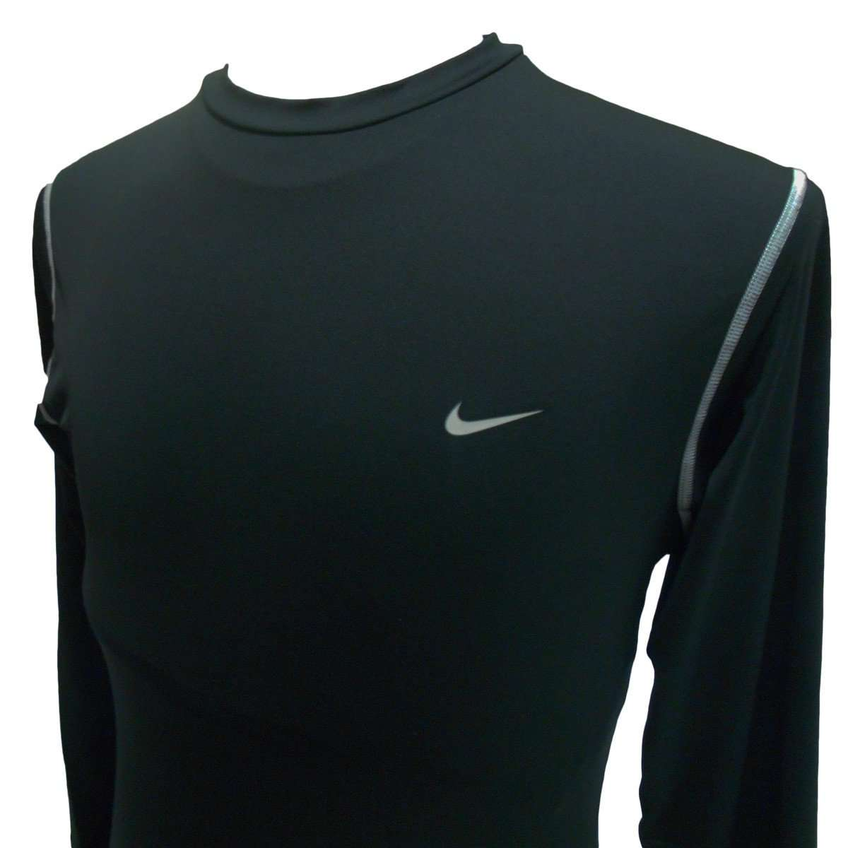 Nike Pro Dri Fit Long Sleeve Training Shirt League Outfitters Combat Base Layer Sleeves L Black