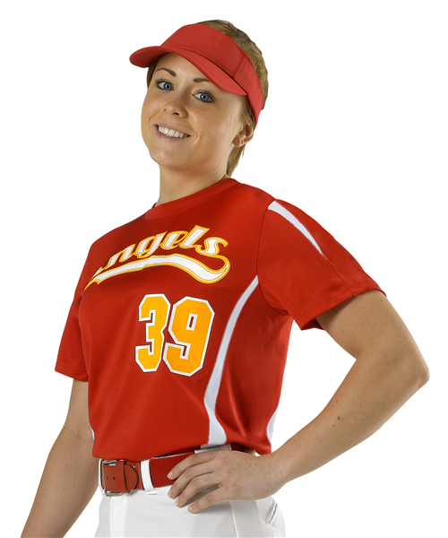 Alleson Fastpitch Women's Crew Neck Jersey - League Outfitters