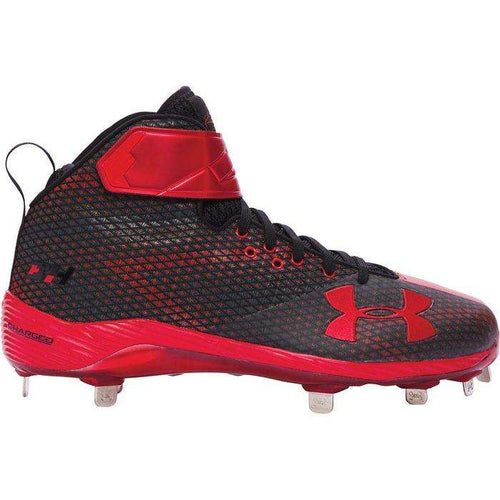 Under Armour Men's Harper One Mid ST Metal Baseball Cleats - League Outfitters