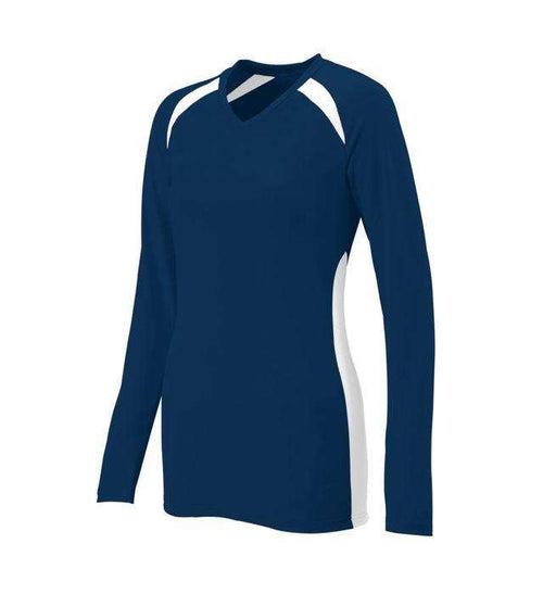 Augusta Sportswear Spike Ladies Long Sleeve Volleyball Jersey - League Outfitters