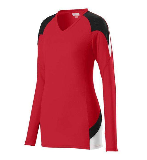 Augusta Sportswear Set Ladies Long Sleeve Volleyball Jersey - League Outfitters