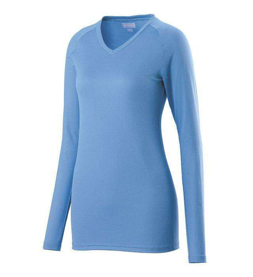 Augusta Sportswear Assist Girls Long Sleeve Volleyball Jersey - League Outfitters