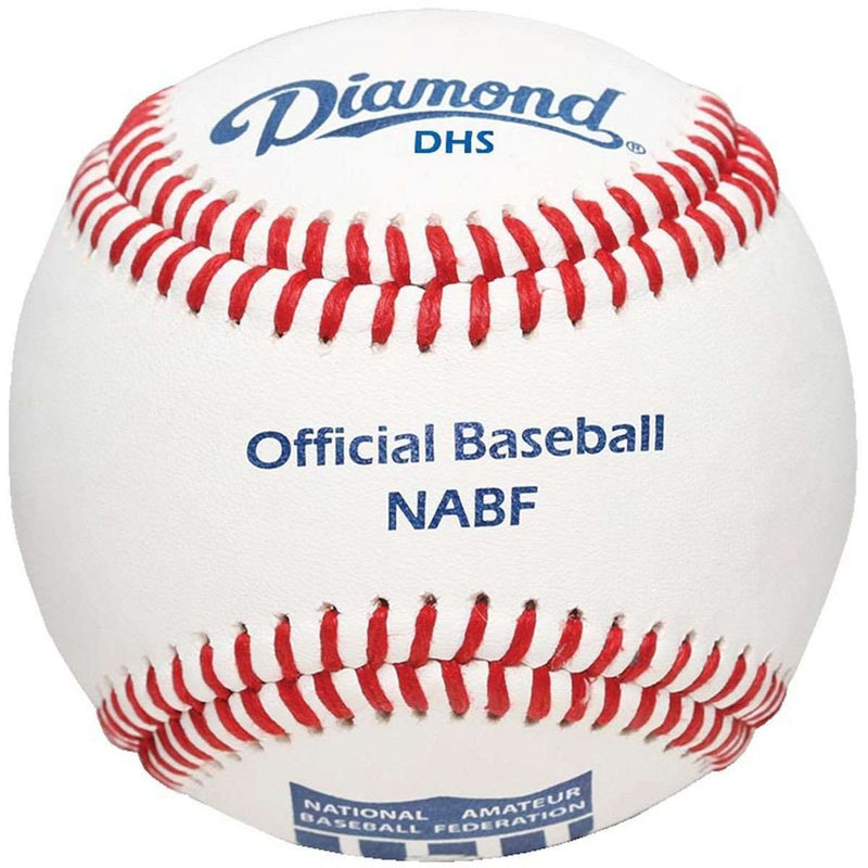 Diamond DHS Official NABF Baseballs - 1 Dozen - League Outfitters