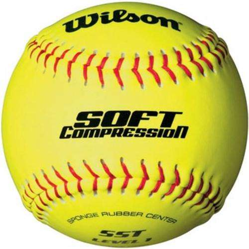 "Wilson Soft compression 12"" Softballs - Individual - League Outfitters"