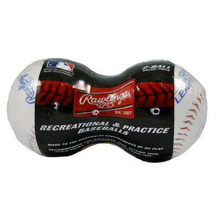 Rawlings Recreation & Practice Baseballs 2-Pack - League Outfitters