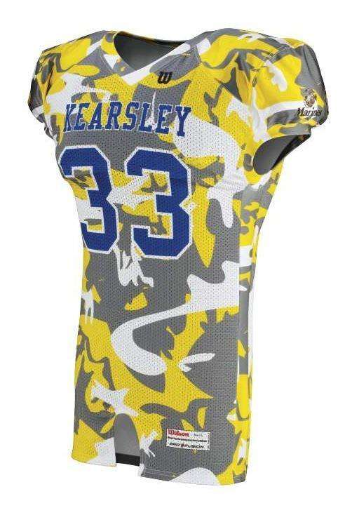 Wilson Youth Sublimated Football Jersey - Kearsley - League Outfitters