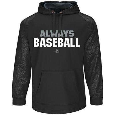 Majestic Premier Home Plate Adult Hooded Tech Fleece - League Outfitters
