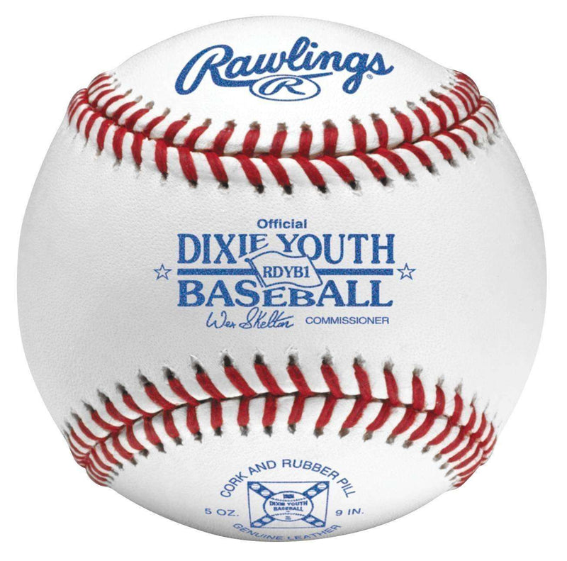 Rawlings Dixie Youth Competition Grade Baseballs - Dozen - League Outfitters
