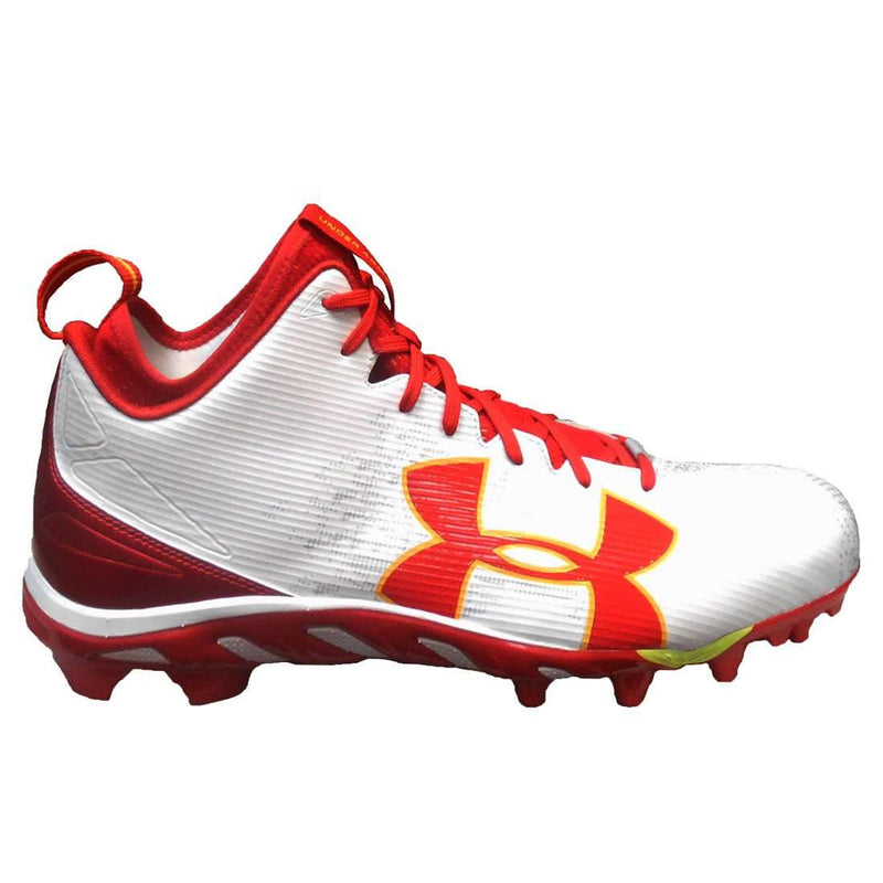 Under Armour Team Spine Fierce MC Wide Football Cleats - League Outfitters
