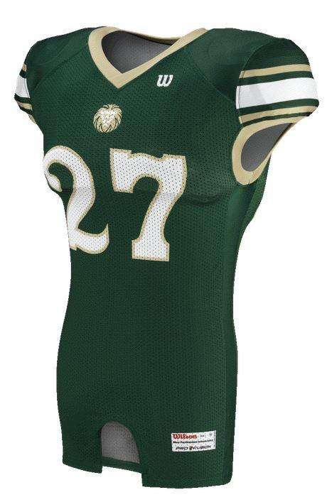 Wilson Youth Sublimated Football Jersey - Lion Heart - League Outfitters