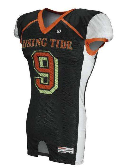 Wilson Adult Sublimated Football Jersey - Rising Tide - League Outfitters