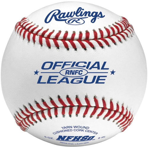 Rawlings Official High School NFHS Baseballs - 1 Dozen - League Outfitters