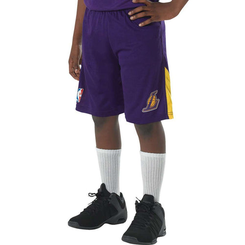 Alleson A205 Adult NBA Logo Game Shorts - League Outfitters