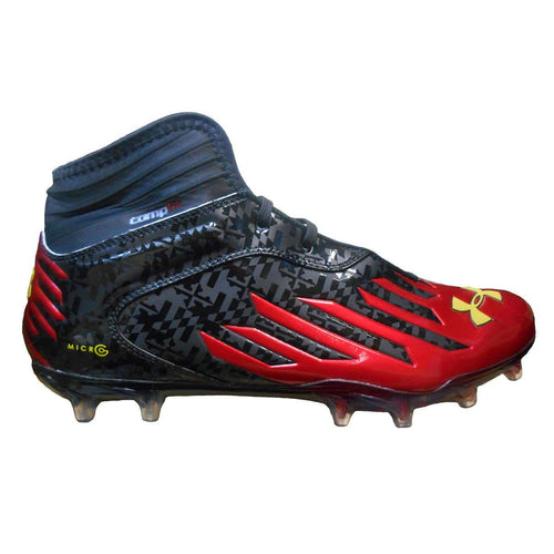 Under Armour Team Nitro Diablo MC CF Wide Football Cleats - League Outfitters