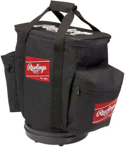 Rawlings RBALLB Ball Bag (Black) - League Outfitters