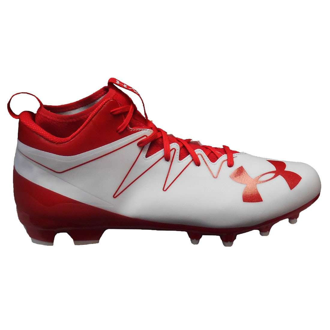 under armour football cleats red