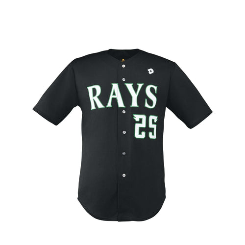 DeMarini Full Button Front Baseball Jersey - League Outfitters