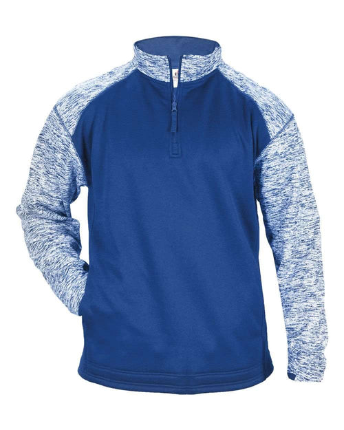 Badger Sport Fleece 1/4 Zip - League Outfitters