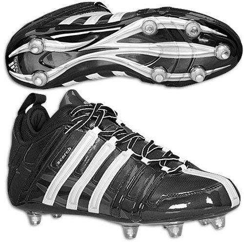 adidas Men's Scorch 8 Detachable Mid Football Cleats - League Outfitters