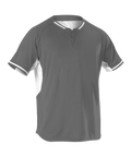Alleson 2 Button Baseball Jersey - League Outfitters