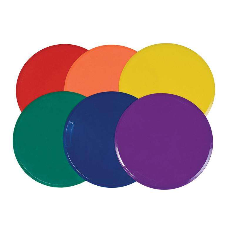 "9"" Poly Spot Markers - Set of  6 - League Outfitters"