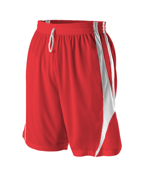 Alleson 54 Youth Reversible Basketball Shorts - League Outfitters