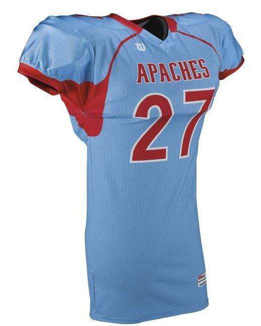 Wilson Youth Sublimated Football Jersey - Apache - League Outfitters
