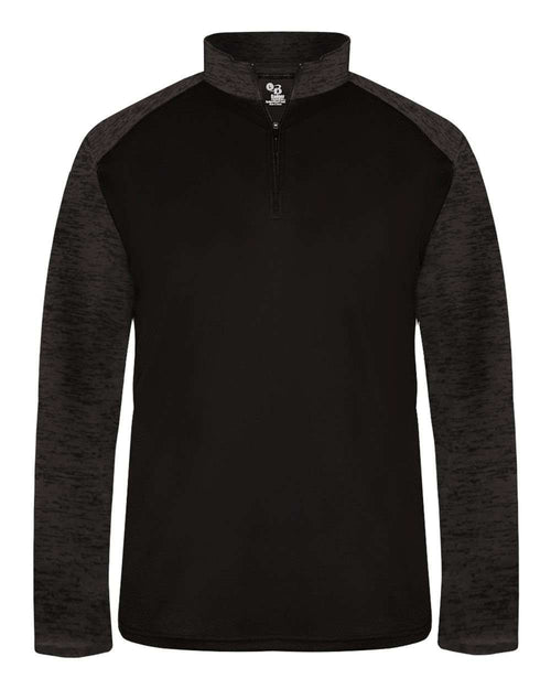 Badger Sport Tonal Blend Adult 1/4 Zip - League Outfitters