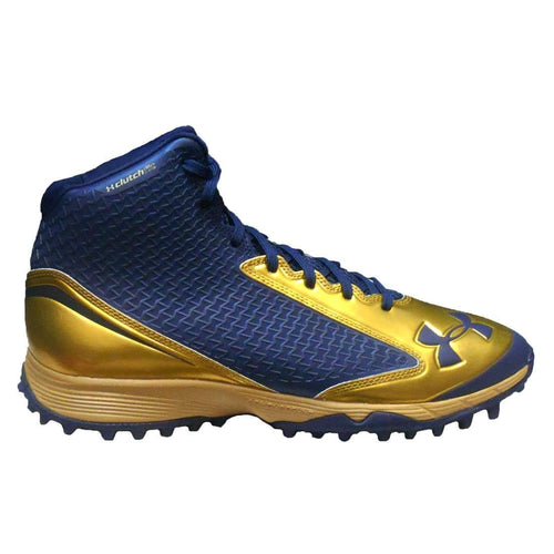 Under Armour Team Nitro Mid Turf Football Cleats - League Outfitters