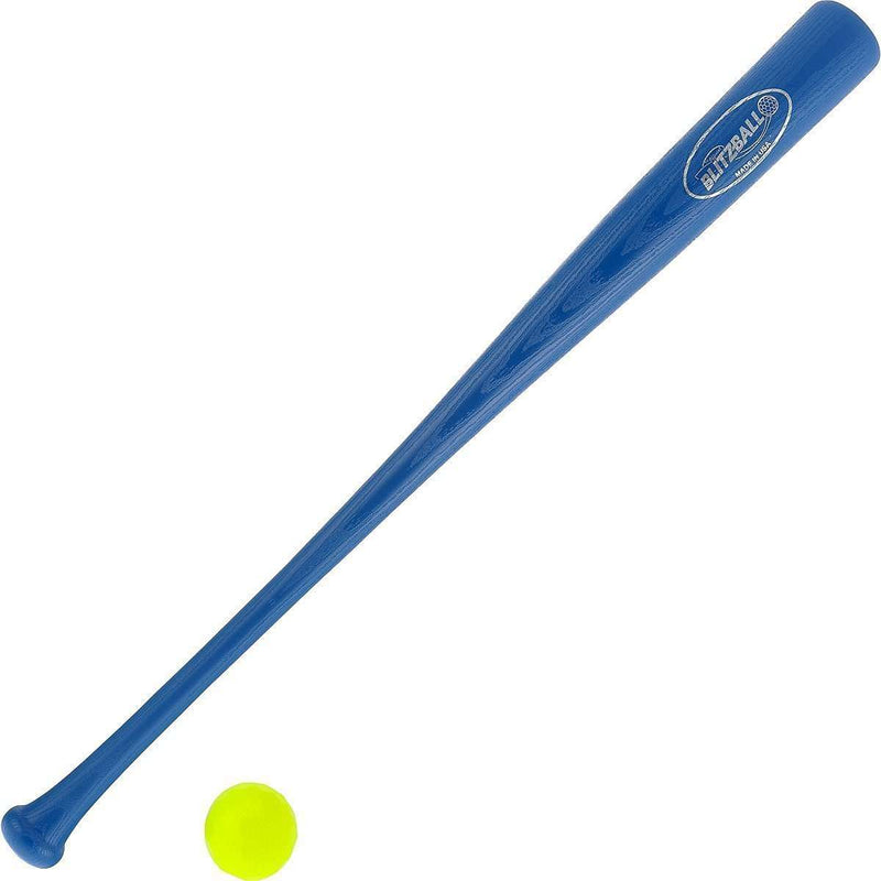 Blitzball Plastic Baseball and Bat and Ball Combo Set - League Outfitters