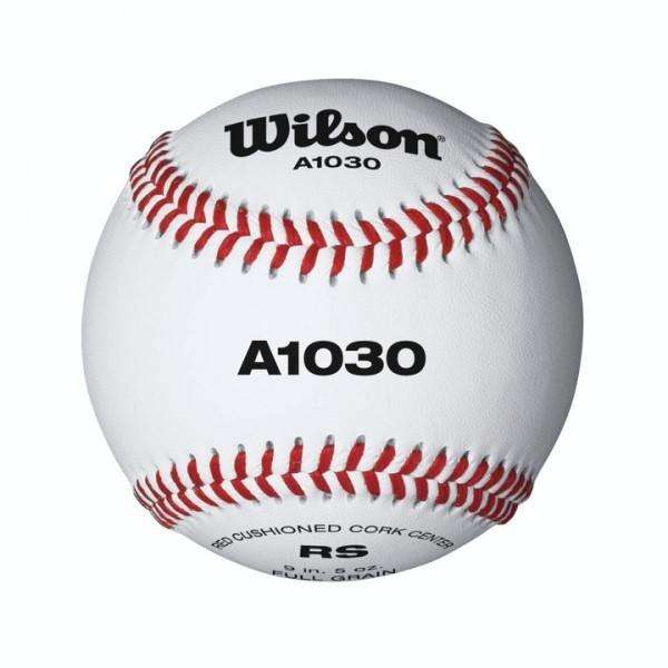 Wilson A1030 Official League Baseball - Dozen - League Outfitters